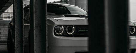 Dodge Challenger SRT 8 - Vollfolierung in Weiss glänzend