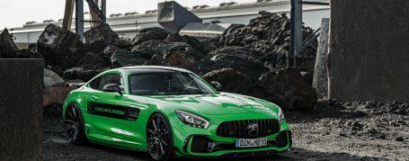 Mercedes-AMG GT S C190 - Folierung in PWF Gymkhana Green