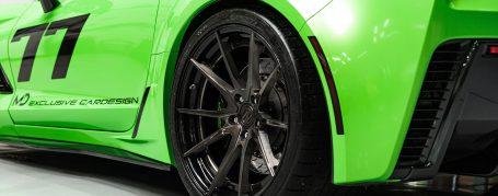 Chevrolet Corvette C7 - Folierung in PWF Gymkhana Green C7-R Style