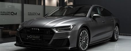 Audi A7 55 TFSI 4K8 - Wrapping in PWF Matt Dark Charcoal CC 4015
