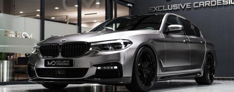 BMW 5er G30 Limousine - Folierung in TeckWrap Gunsmoke Grey ECH02
