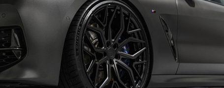 BMW M850i Gran Coupé G16 - Folierung in PWF Matt Diamond Black CC 4101