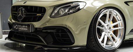 Mercedes-AMG E63W213 Limousine - Folierung in PWF Urban Drab CC 4155