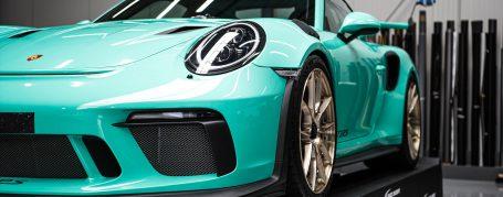 Porsche 911 991.2 GT3 RS - Vollfolierung in Oracal Gloss Mint 970RA-055